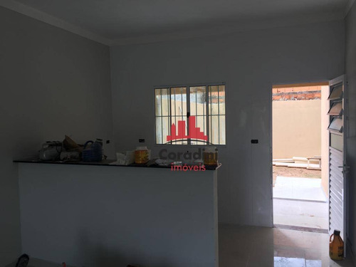Imagem 1 de 14 de Casa Com 2 Dormitórios À Venda, 60 M² Jardim Da Balsa I - Americana/sp - Ca1965
