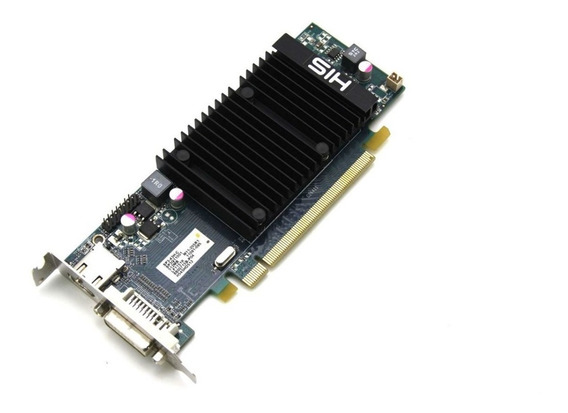 Amd 5450 1gb Ddr3 Pci-e Dvi/vga/displayport Low Profile (baixo Perfil)