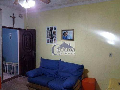 Imagem 1 de 11 de Sobrado Com 3 Dormitórios À Venda, 141 M² - Campestre - Santo André/sp - So0758