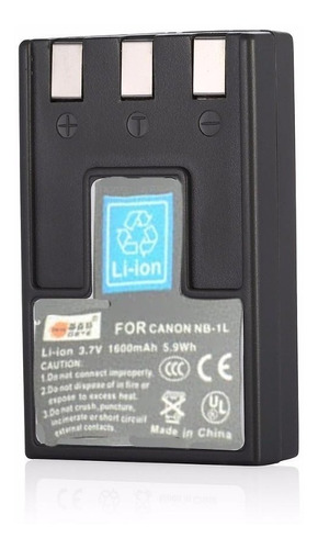 Batería Nb-1l Para Canon 200a 300 320 330 Ixy 300a S110