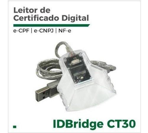 Leitor De Cartão Smart Card Para Uso De Certificado Digital