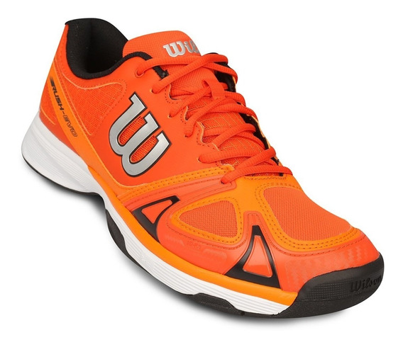 Zapatillas Wilson Rush Evo Ideal Tenis Padel Voley Envios