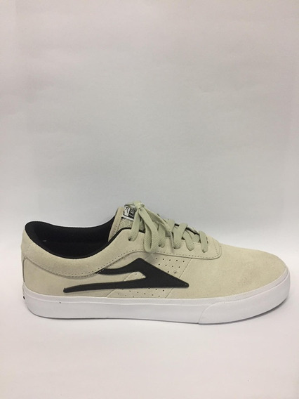 Tênis Lakai - Sheffield White/black Original