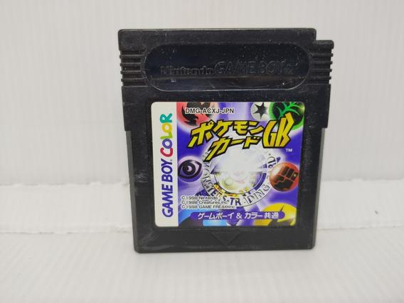 Cartucho Pokemon Trading Card Game Boy Color