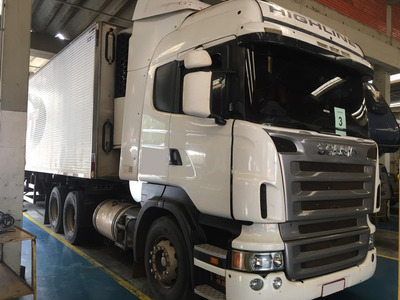 Scania R 420 6x2 Trucado Highline Teto Alto 2008/2008 (vt)