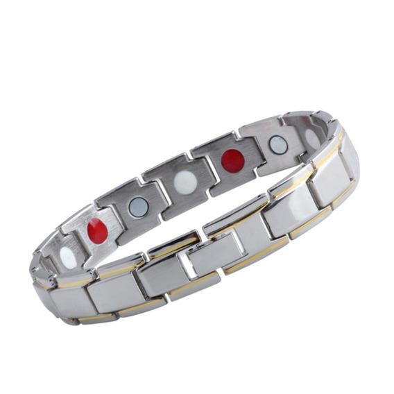 316l Moda Magnético Cuidados Mão Saúde Cadeia Aço Inoxidável