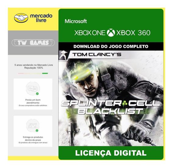 Splinter Cell Blacklist Digital Retro Xbox One Xbox 360