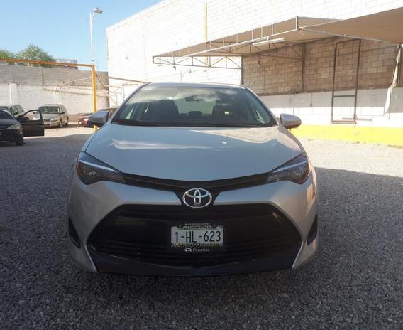 Toyota Corolla Le 2018 Plata