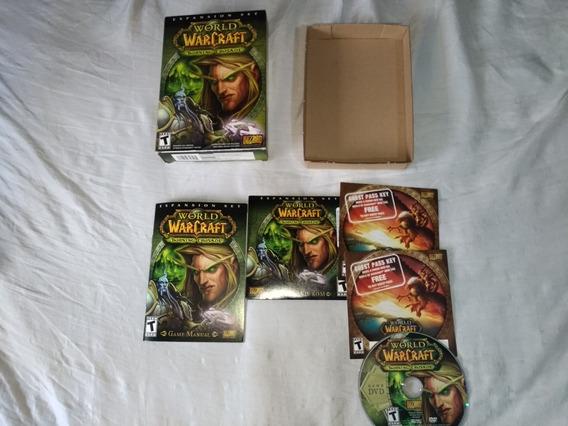 World Of Warcraft Burning Crusade Box Raro