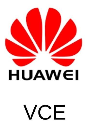 Prova De Certificação Huawei Dump Vce