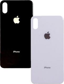 Tampa Traseira De Vidro iPhone 10 X A1865 Branco / Preto