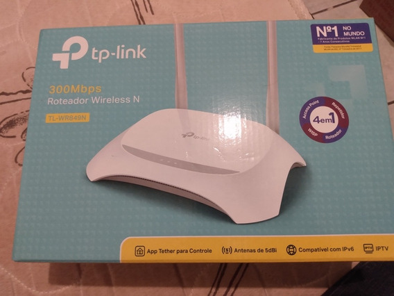 Roteador Wireless Tp-link 300 Mbps