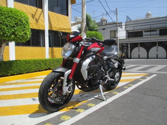Moto Mv Agusta 2017 Brutale Dragster Rr 800cc 145 Hp