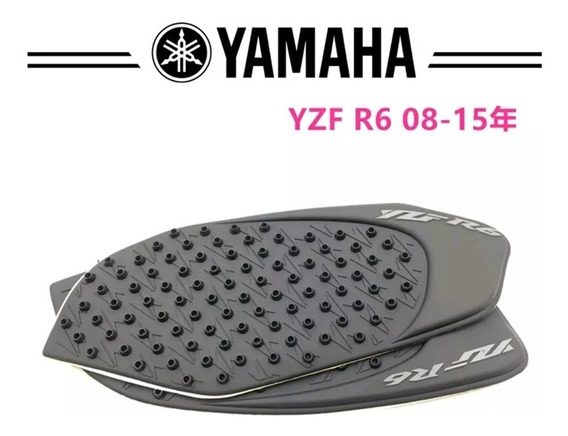 Protetor Tanque Lateral Tipo Stompgrip R6 2008 A 2015 Yamaha