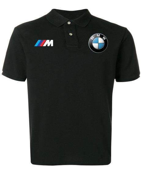 Camisa Camiseta Polo Bmw M Carro Corrida Alta Qualidade Top