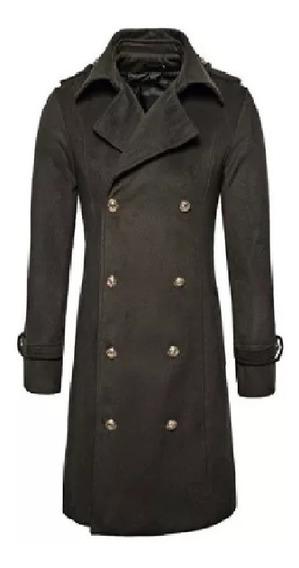 Saco Abrigos De Manga Larga Premium Winter Coat Slimfit Envi