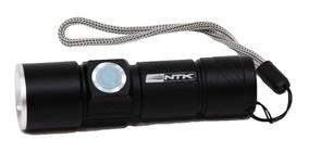 Lanterna Recarregável Usb Ntk Modelo Cymba 70 Lumens
