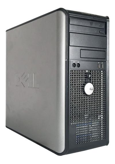 Cpu Dell Optiplex 330 Core 2 Duo 2gb Hd160 Com Garantia E Nota Fiscal + Frete Grátis Em Até 12x Sem Juros