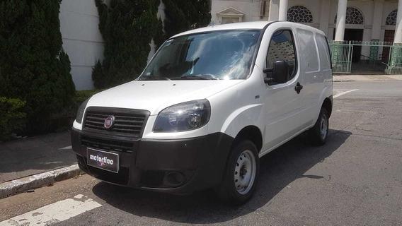 Fiat - Doblo Cargo 1.4 Flex 2016 Branco Único Dono