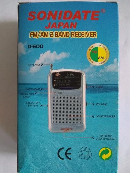 Radio Portátil Fm-am
