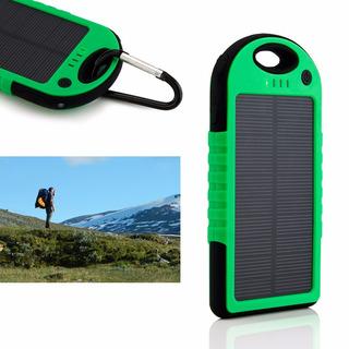 Cargador Solar Batería Externa Celular Power Bank
