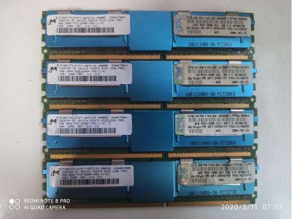 Memória (1x4gb) Ddr2 Server Ram Ecc Fb Pc2 5300f