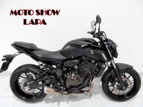 Imagem 1 de 12 de Yamaha Mt 07 Abs 2021 Preta