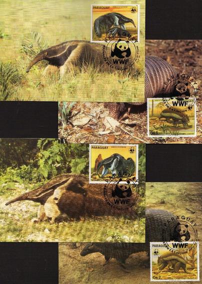 Numismza Paraguay 1985 Wwf 4 Tarj 1er Dia ( S 242) Oferta