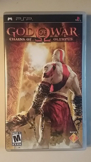 Psp-god Of War-chains Of Olympus