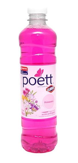 Limpiador Líquido Multiusos Poett Primavera 450 Ml