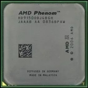 Processador Amd Phenom(tm) 9150e Quad-core Processor × 4