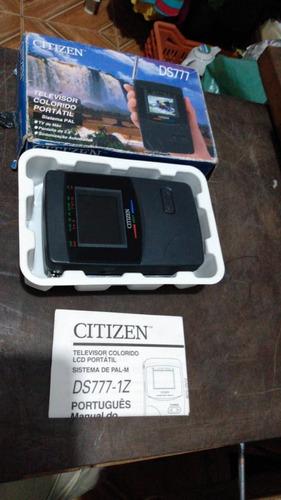 Mini Tv Citizen Ds777 - 1z  Funcionando