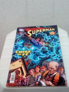 Gibi Hq Superman Crise De Fé Nº 63