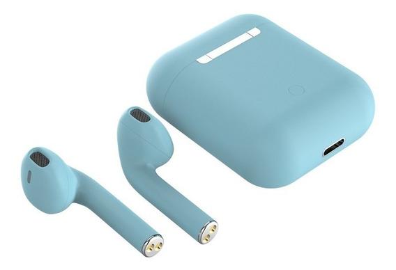 Audífonos Inálambricos Inpods I12 Tws Macaron Para Celular