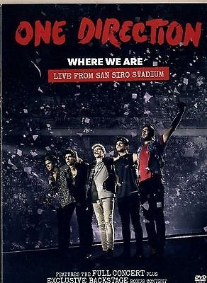 Dvd One Direction Where We Are Live From San Siro