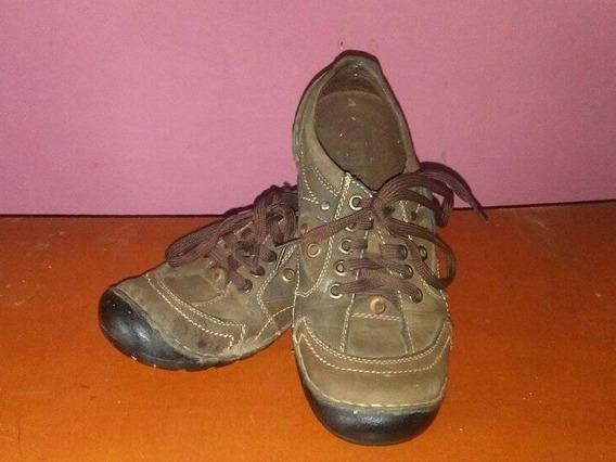 Zapatos Para Niños Casuales Cocidos Colegiales Talla 35-36