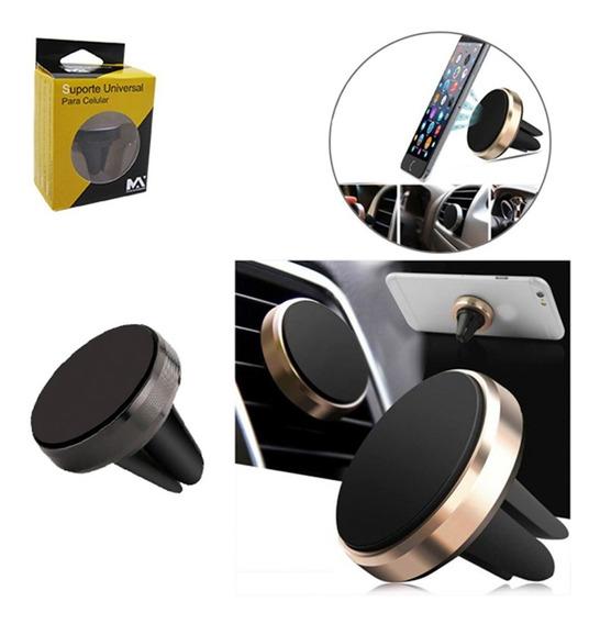 Suporte Automotivo Veicular Com Imã Para Celular Gps Mp4 Psp