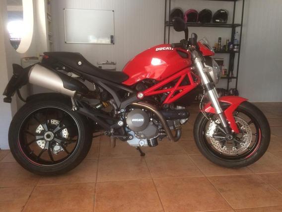 Moto Ducati Monster 796 Ano 2014 Em Bom Estado Conservação