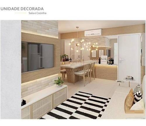 Imagem 1 de 26 de Apartamento Com 2 Dormitórios À Venda, 52 M² Por R$ 320.000,00 - Vila Curuçá - Santo André/sp - Ap10627