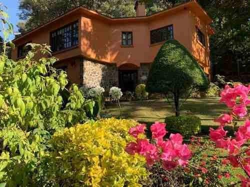 Espectacular Residencia En El Bosque A 5 Min Cuernavaca