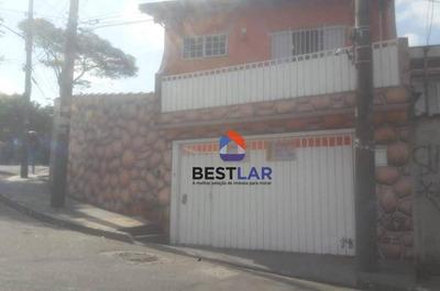 Casa Com 2 Dormitórios À Venda, 140 M² Por R$ 550.000 - Ayrosa - Osasco/sp - Ca0696