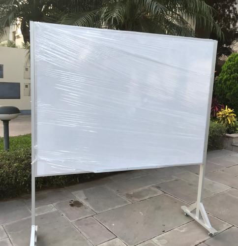 Pizarra Acrilica Con Rueda 1.2mx1.6m