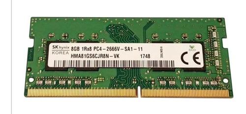 Memória Ram 8gb 1x8gb Sk Hynix 2666mhz Alienware Mac