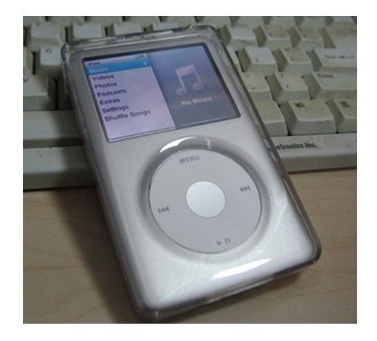 Capa Case Acrilica iPod Classic 80 120 160 Gb 7th Geração