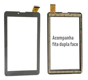 Kit 10 Telas Touch Multilaser M7 3g Dual Core 7 Polegadas