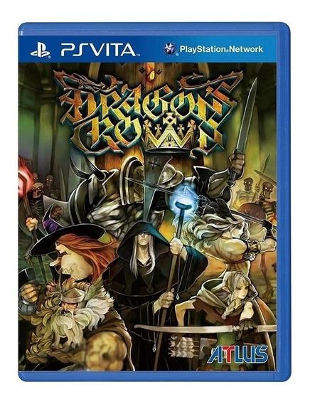 Game Dragons Crown Ps Vita Atlus Original Novo Lacrado