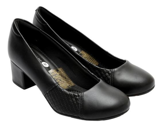 Zapato Modare Taco Cuadrado Bajo Elastizado A Los Costados