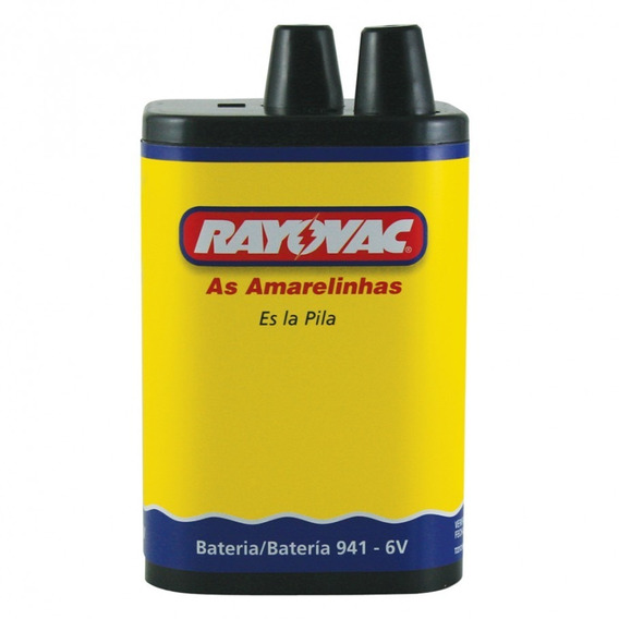 Bateria Rayovac 941 6v High Power 10943
