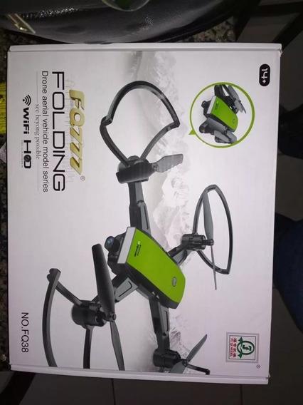 Drone Fq777 Fq38 Fpv Ao Vivo Smartphone Dobravel Estavel