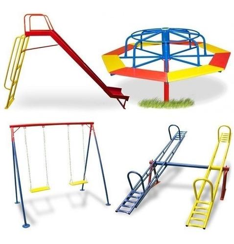 Playground Infantil Divertido 4 Em 1 Frete Grátis